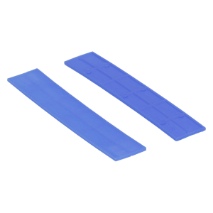 Köhlerwoodcap Kunststof Rasterblok - 22x2mm - Blauw (100st)