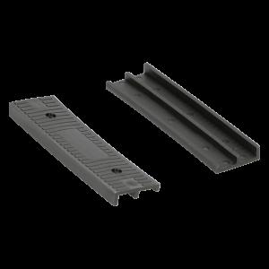 Keggen - 100x26x8/4mm - Zwart (100st)