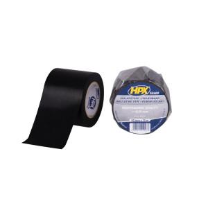 HPX Isolatietape 52400 - PVC - 50mm x 10mtr - Zwart