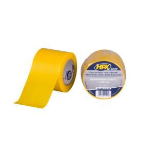 HPX Isolatietape 52400 - PVC - 50mm x 10mtr - Geel