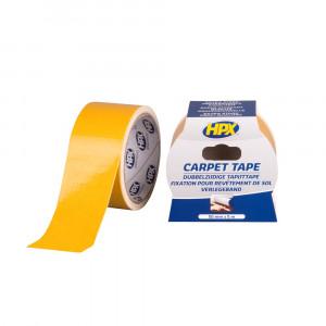 HPX Dubbelzijdige Tapijttape Wit - 50mm x 5mtr