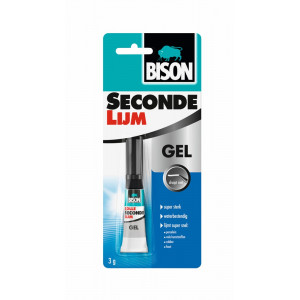 Bison Secondenlijm - 3gr