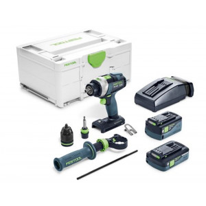 Festool accu-klopboormachine PDC 18/4 5,2/4,0-PLUS