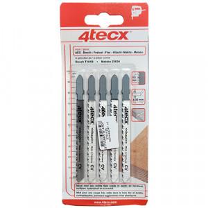 4TECX Decoupeerzaagblad CV 100mm ZT 2,5mm - T101B (5 stuks)
