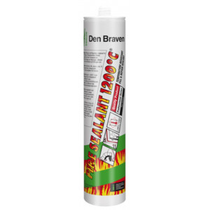 Zwaluw Fire Sealant - Zwart - 310ml