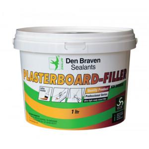 Zwaluw Plasterboard-Filler - Wit - 1ltr