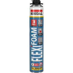 Soudal Flexifoam Click & Fix - 750ml