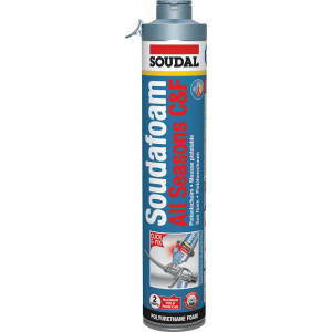 Soudal Soudafoam All Seasons Click & Fix PU - 750ml