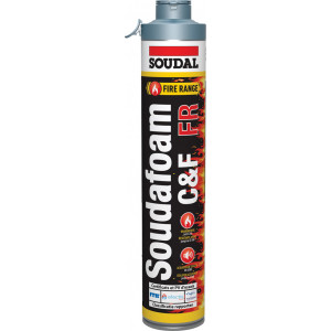 Soudal Soudafoam FR Click & Fix PU - 750ml
