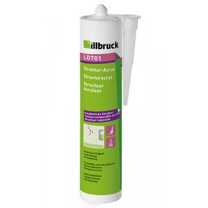 Illbruck LD701 Structuur Acrylaatkit - Wit - 310ml